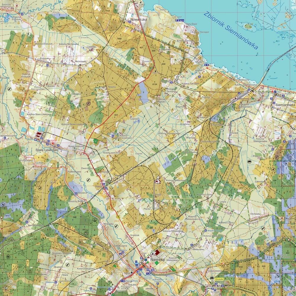 mapa przyrodnicza